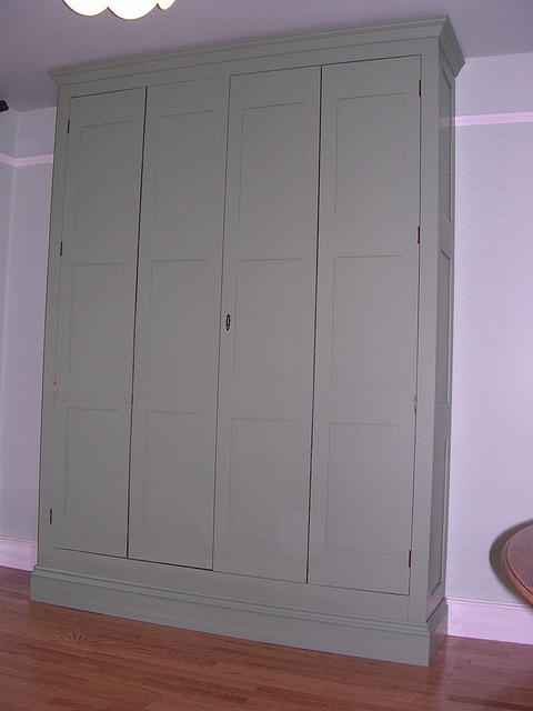 Bed Cupboard with bed stored