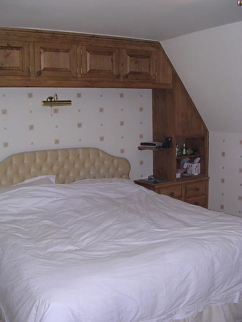 Fitted Top Boxes over bed