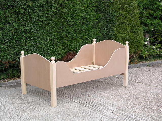 MDF Childs Sleigh Bed