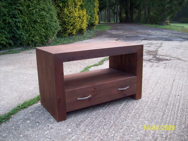 Chunky TV Stand
