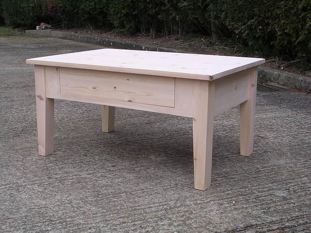 Shaker Coffee Table with drawer