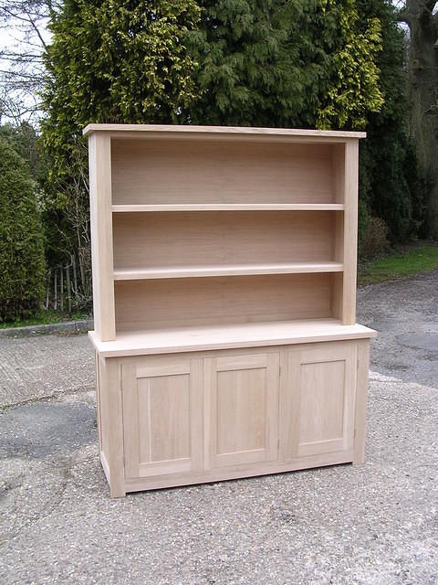Open shelved dresser