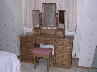 Twin Pedestal Dressing Table